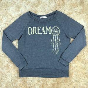 """BROKEDOWN Gray """"DREAM"""" SWEATSHIRT XS"""